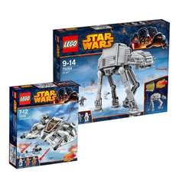 Lego AT AT und Snowspeeder (75054 und 75049)
