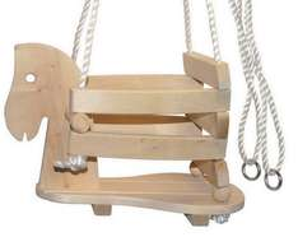 @amazon: Holz Pferde Schaukel 16,27 € mit prime, ohne prime 19,27€