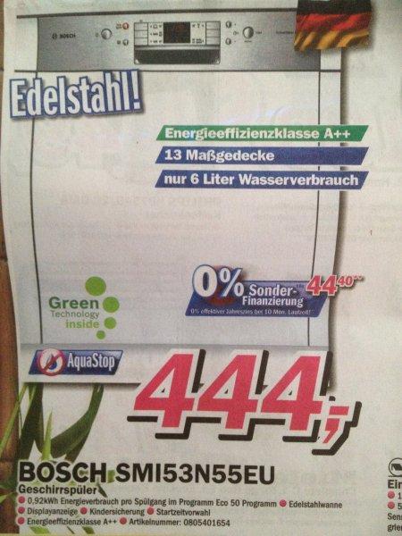 [Lokal Borken/Dülmen-Telepoint] Bosch Geschirrspüler SMI53N55EU | 444,-€