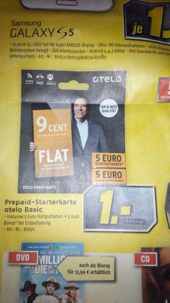 [MediMax][Dessau] Otelo Prepaid Starterkarte Basic inkl. 5€ Startguthaben für 1€