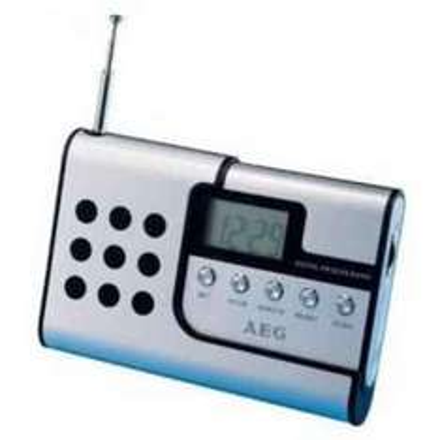 Digitales Reiseradio AEG DRR 4107 für nur 4,90 EUR inkl. Versand