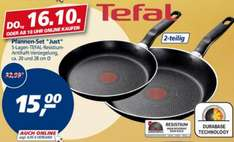 Tefal Pfannen-Set Just 2-teilig 15€