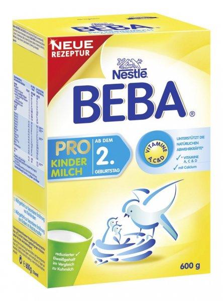 6er Pack Beba Pro Kindermilch 2+ (6x600g)  bei Amazon 30% bzw. 50% günstiger