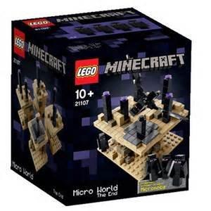 Lego Minecraft 21107 Micro World - Das Ende