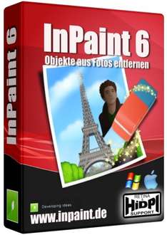 [Win] Bildretuschier-Programm Inpaint, neueste Version 6.0, statt 19,99$