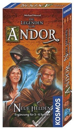 """[Brettspiel] Die Legenden von Andor Erweiterungen """"neue Helden"""" und """"Sternenschild"""" für je 11,99€ @ Amazon PRIME oder Müller Online Shop"""