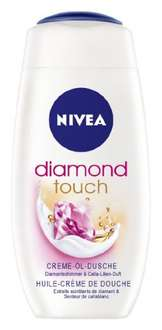 Nivea Diamond Touch Creme-Öl-Dusche, 4er Pack (4 x 250 ml)