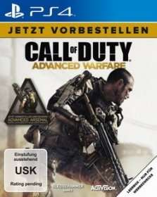 PreOrder Box PS4: Call of Duty: Advanced Warfare: 71,99€, Ostermann Kosolen