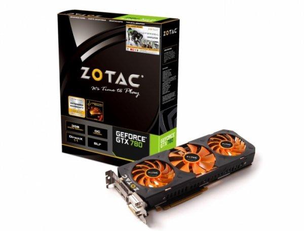 3072MB ZOTAC GeForce GTX 780 OC + Gamebundle Aktiv PCIe 3.0 x16 (Retail)