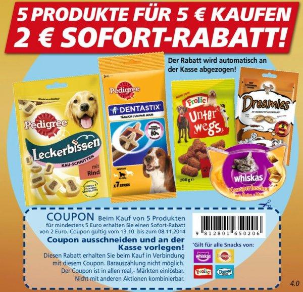 [REAL BUNDESWEIT] 5x Pedigree DentaStix 110g für 0,19€/Packung (Angebot + Coupons)