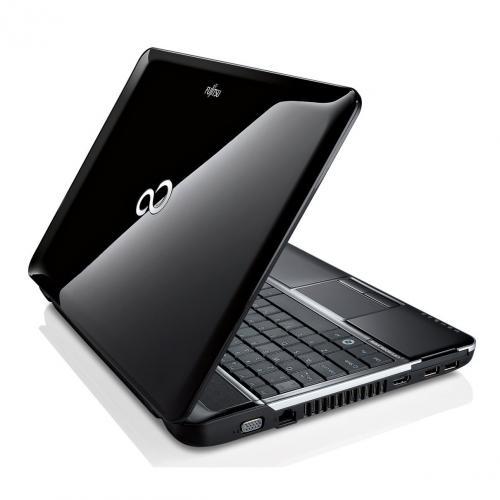 Fujitsu Lifebook AH531 39,6 cm (15,6 Zoll) Notebook (Intel Core i5 2410M, 2,3GHz, 4GB RAM, 320GB HDD, NVIDIA GT 525M, DVD, Win 7 HP) hochglanz schwarz