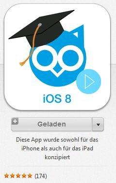 [iOS-App] 100 iOS 8 Tipp-Videos für 1,79€ (60% günstiger)