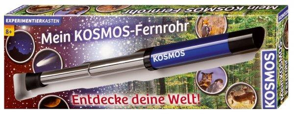 KOSMOS 676919 - Mein Kosmos Fernrohr, 12fache Vergrößerung (für Kinder) [10,39€ amazon prime]
