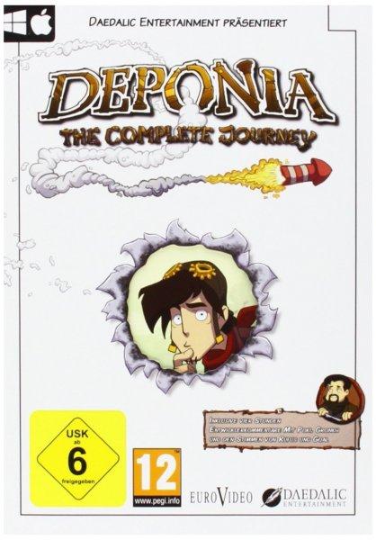 [Amazon] Deponia: The Complete Journey [PC] für 26,99 EUR (ohne Prime)
