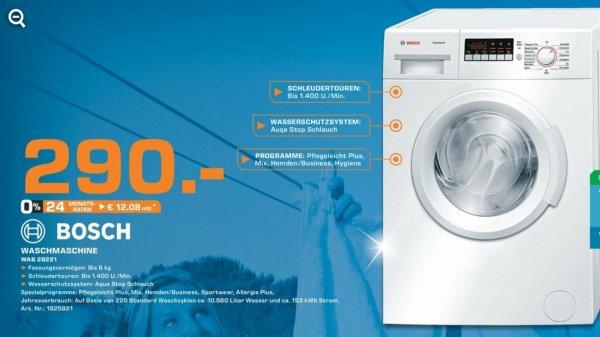 [Lokal Saturn Hagen] Bosch Waschmaschine für 290 €