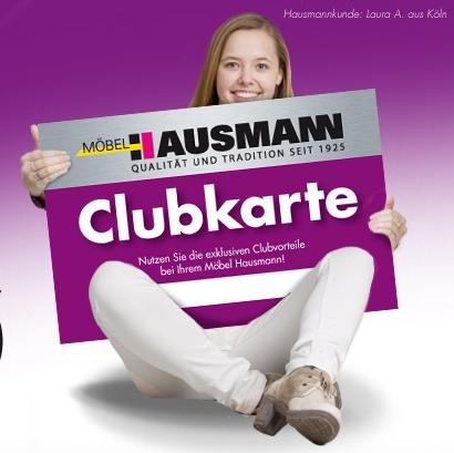 Möbel Hausmann Clubkarte mit Freebies (Lokal in Bergheim, Laatzen, Gremberghoven)