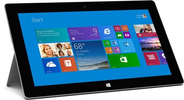 Microsoft Surface Pro 2  mit 128gb für 549,- € + 6,90 € Versand oder mit Tastatur für 599,- € bei ebay.de