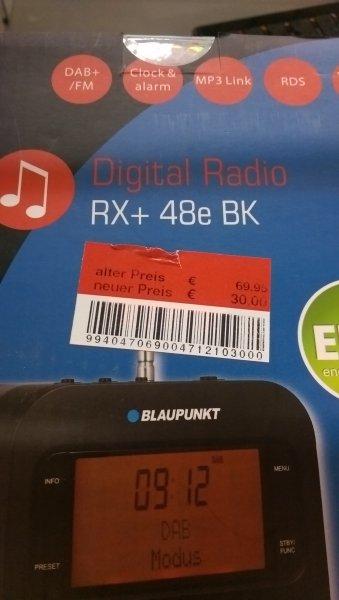 [Lokal Moers] Blaupunkt Digitalradio Rx+ 48e BK für 30,00 EUR @Real