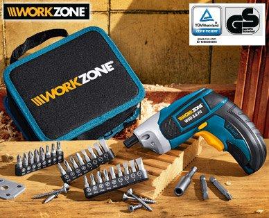 [Aldi SÜD] WORKZONE® 3,6 V Li-Ion Akkuschrauber (Pendant zum Bosch IXO) ab 20.10.2014 mit 3 Jahren Garantie für sagenhafte