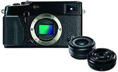 Fujifilm X-Pro1 Kit 18 mm + 27 mm für 1004€ @Amazon.co.uk