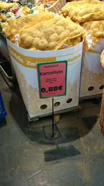 [LOKAL] 10kg Kartoffeln 0,88 € im EDEKA MA-Neuostheim