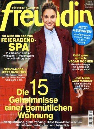 """Wieder Zeitschrift """"Freundin"""", dieses Mal mit 35€ Universalgutschein statt Verrechnungsscheck"""