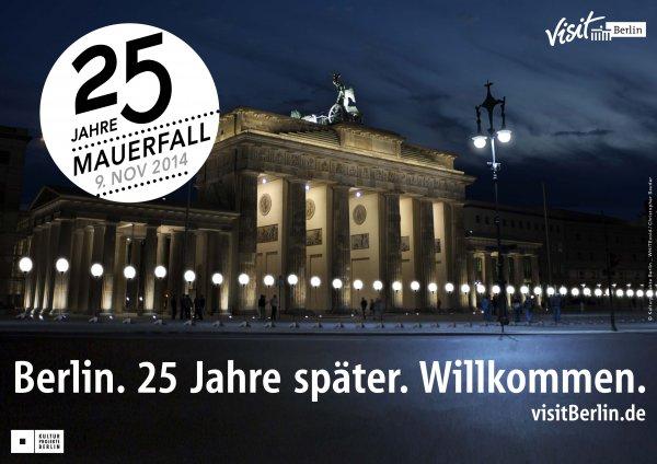 25 Jahre Mauerfall: Berliner Hotels bieten attraktive Pauschalen