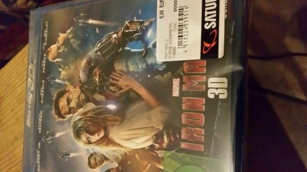 Lokal Saturn Hagen - Iron Man 3. 3D   blu Ray für € 6,99