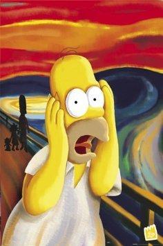 viele Poster reduziert - z.B. Homer, Der Schrei