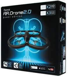 [AMAZON WHD] AR.Drone 2.0 Power Edition (limitierte Auflage), idealo ab EUR 281,45 (neu)