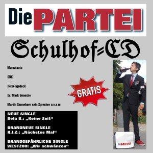 Die PARTEI: Schulhof-CD gratis downloaden
