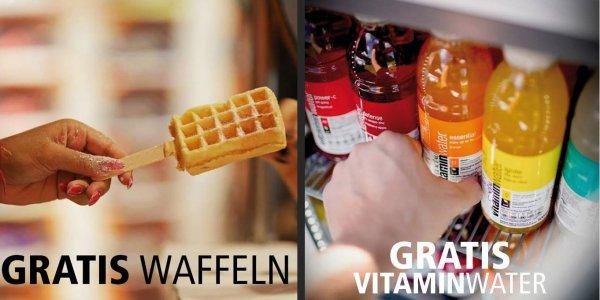 [Berlin Mitte] Nur Heute! Frische Waffeln und Vitaminwater gratis von Urban Classic!