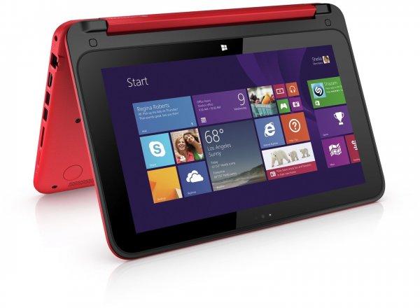HP Pavilion 11-n070eg x360 für 309€ - 11 Zoll Ultrabook Convertible mit Celeron N2820, Touchscreen und Windows 8.1