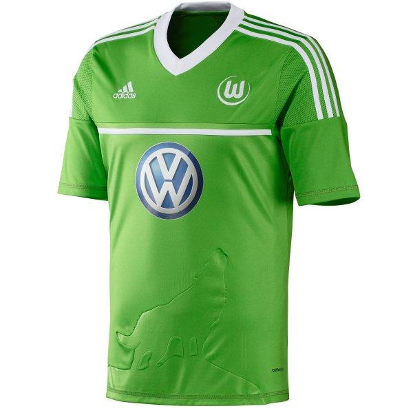 adidas VfL Wolfsburg Home Jersey 2012/2013