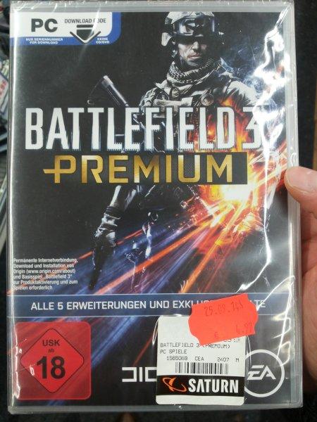 Battlefield 3 Premium [PC] für 4,97€ @ Saturn Sankt Augustin