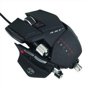 MadCatz Cyborg R.A.T. 7 schwarz - Gaming Maus, kabelgebunden, Laser, 6400dpi, 5 Tasten für 59,90@Amazon Blitz