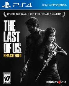 The last of us remastered (PS4 exclusive Game)