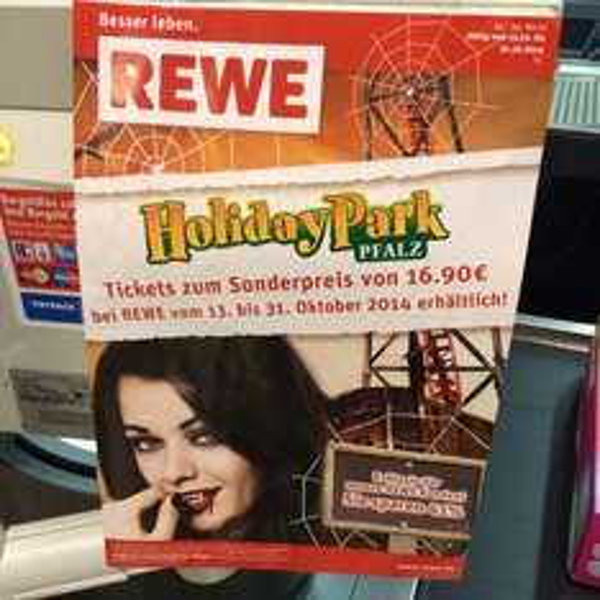 Holiday Park Eintritt für 16,90 p.P bei REWE