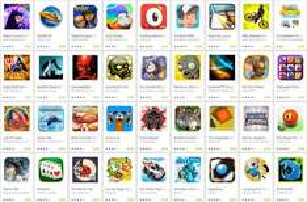 99 Google Play Spiele für je 0,89€