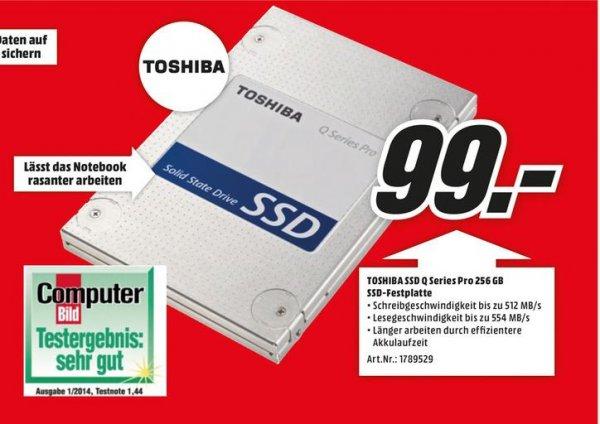 [Mediamarkt offline] Toshiba SSD Q Series Pro 256GB für 99€