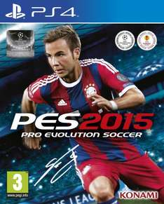 [zavvi.com] PES 2015 Pro Evolution Soccer für PS4 Playstation 4 & Xbox One für 43,93€ (PS3 /Xbox360 37,65€)