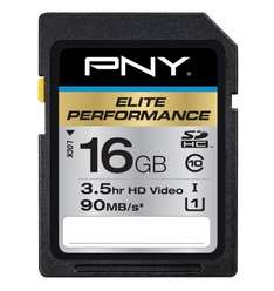 PNY Elite Performance High Speed (Lesen: 90MBs/Schreiben: 60MBs) SDHC Class 10 verschiedene Größen (16GB/32GB/64GB/128GB) ab 12,98 € ink.Versand @amazon.com (zwischen 22% und 45% je Karte Ersparnis ggü. idealo)