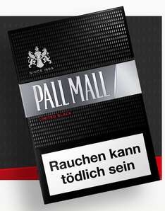 KOSTENLOS: Pall Mall Limited Black oder Silver