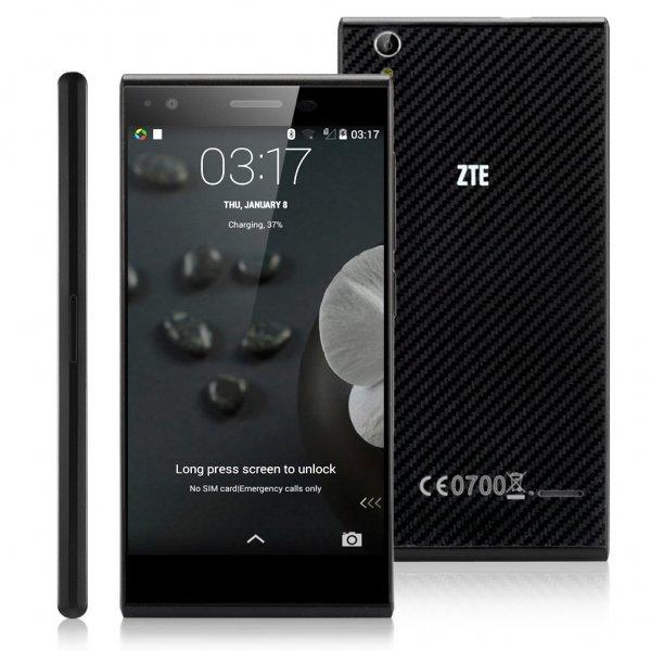 ZTE Blade Vec 4G schwarz 16GB für 154€ @Smartkauf