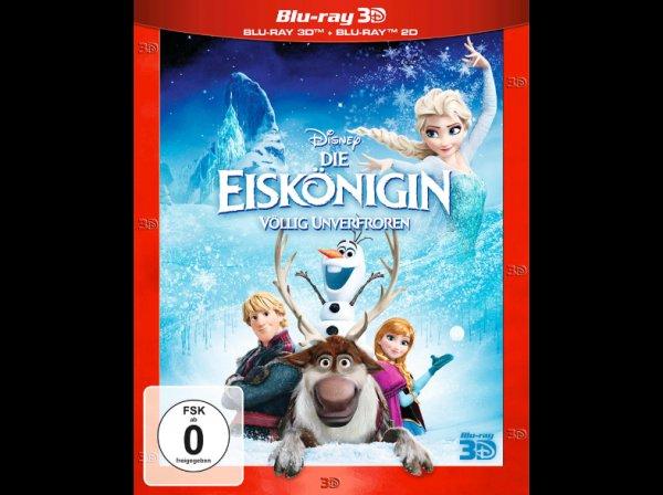 [Blu-ray] Die Eiskönigin - Völlig Unverfroren (auch 3D) @ Saturn.de