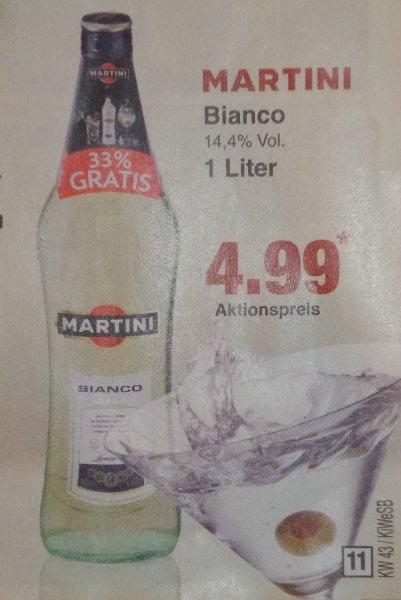 [Netto MD] Martini Bianco 1,0L 4,99€