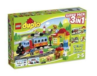 Lego Duplo Eisenbahn 3-in-1 Super-Pack für 50,95€ inkl. Versand