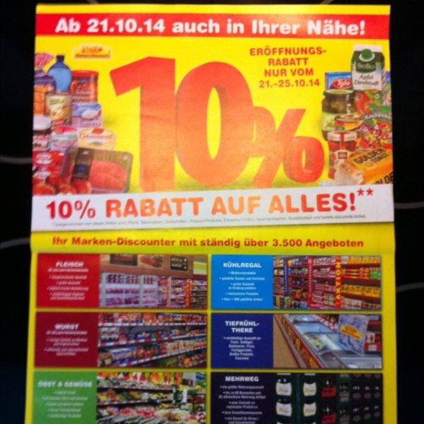 Netto Niederbühl 10% Neueröffnung