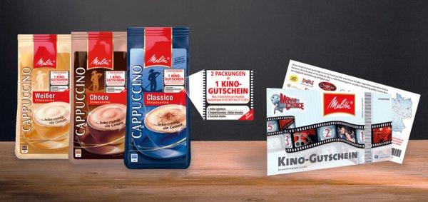 [Lokal BaWü und Bayern] Melitta Cappuccino für 1,99€ @ Kaufland für Movie Choice Gutscheine