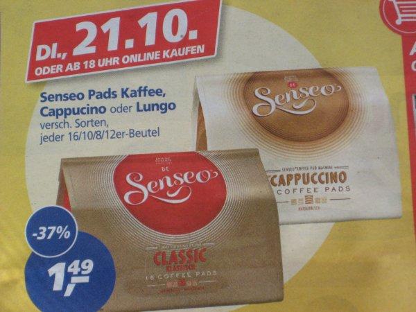 [real bundesweit Offline] 3x Senseo Kaffeepads versch. Sorten 92-125g für 0,82€/Packung am 21.10.